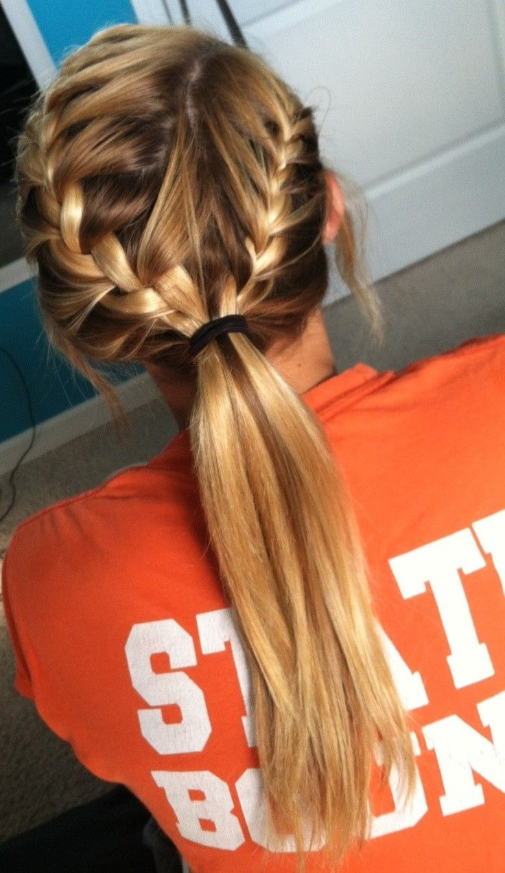 28 Pretty and Cute Hairstyles for School Girls - Pretty Designs
