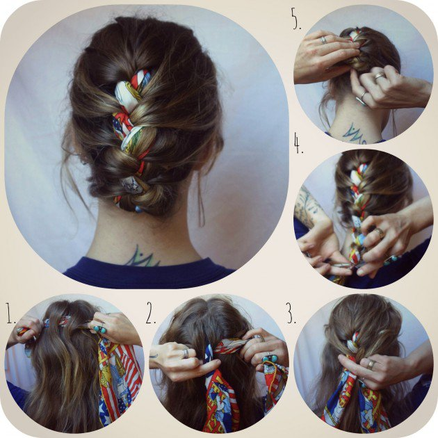 16 Beautiful Hairstyles With Scarf And Bandanna Pretty