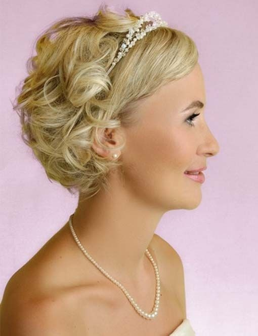 Прическа на свадьбу своими руками на короткие волосы