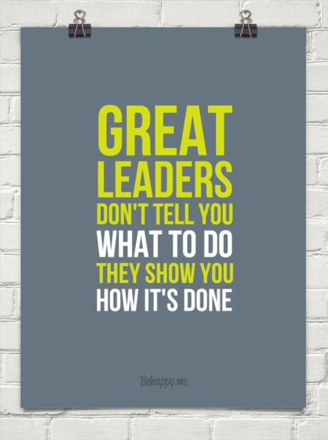 Great Leadership Quotes Magnificent 48 Leadership Quotes For Leaders Pretty Designs