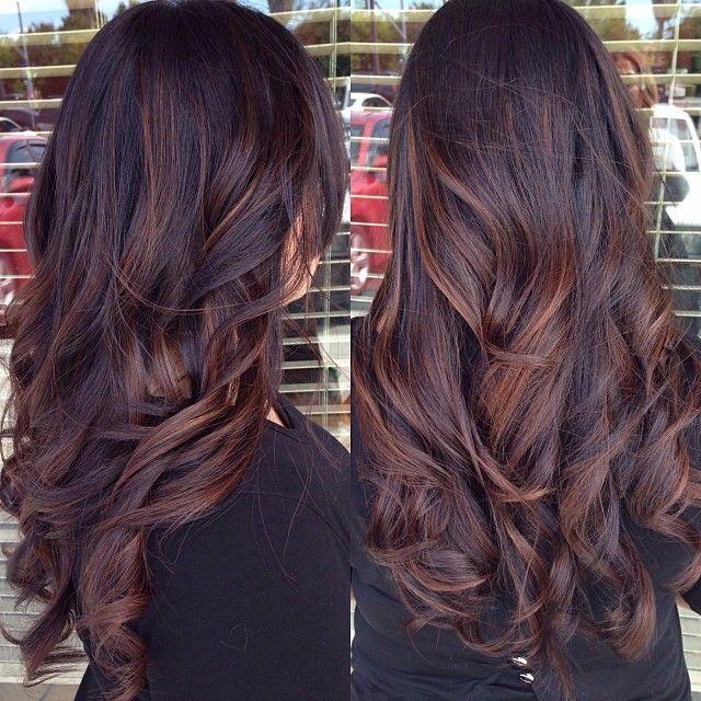 16 Wonderfully-Chic Dark Colored Hairstyles - Pretty Designs