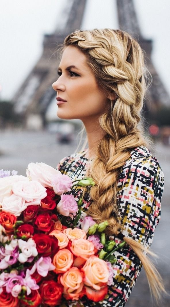 Cool 10 Trendy Side Braid Hairstyles For Long Hair Pretty Designs Hairstyle Inspiration Daily Dogsangcom