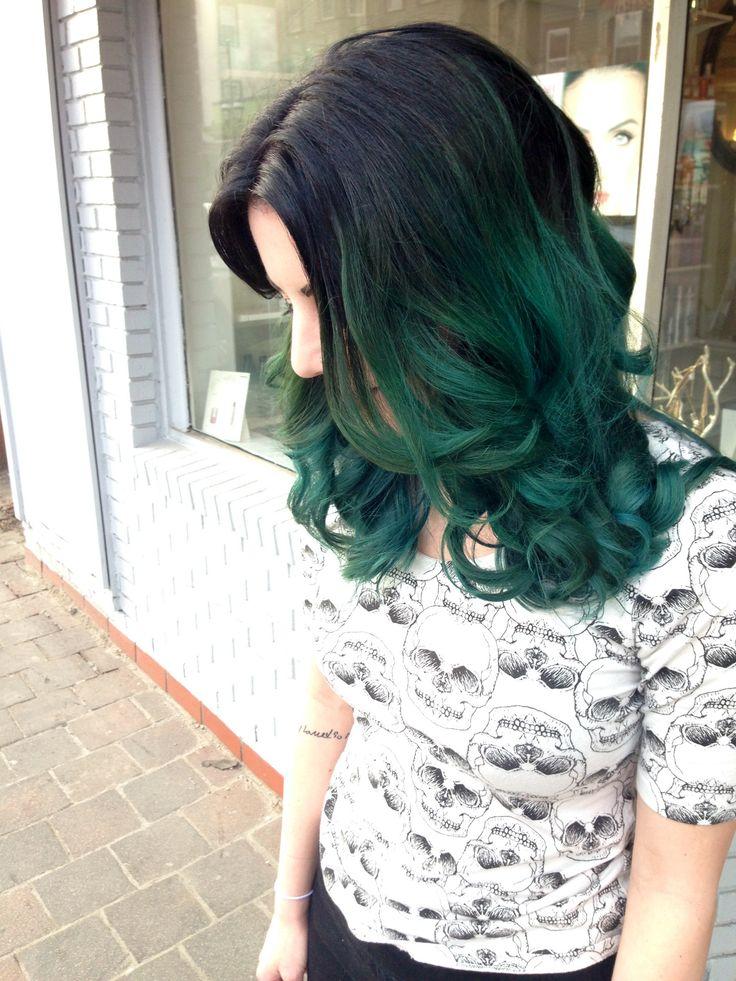 Medium Ombre wavy Hairstyle