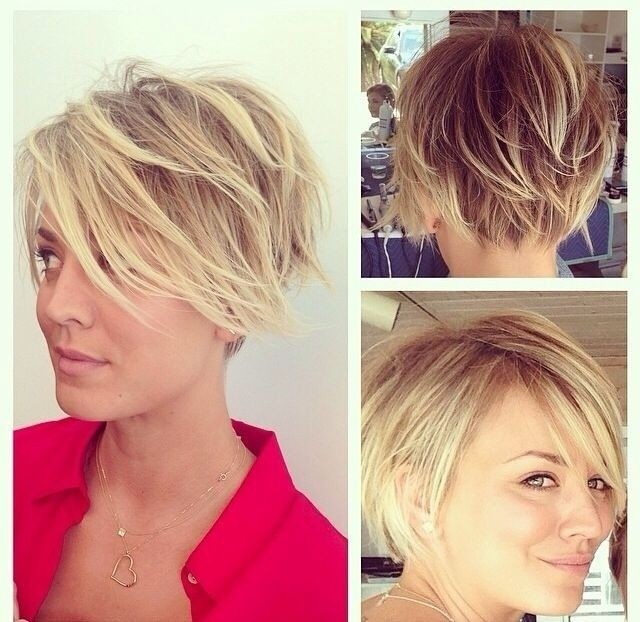 Messy Short Layered Haircut for Blond Hair