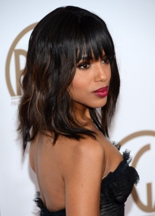 Astonishing 12 Coolest Black Hairstyles With Bangs Pretty Designs Hairstyles For Women Draintrainus