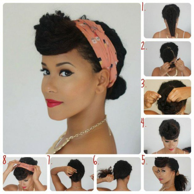 16 Beautiful Hairstyles With Scarf And Bandanna Pretty Designs