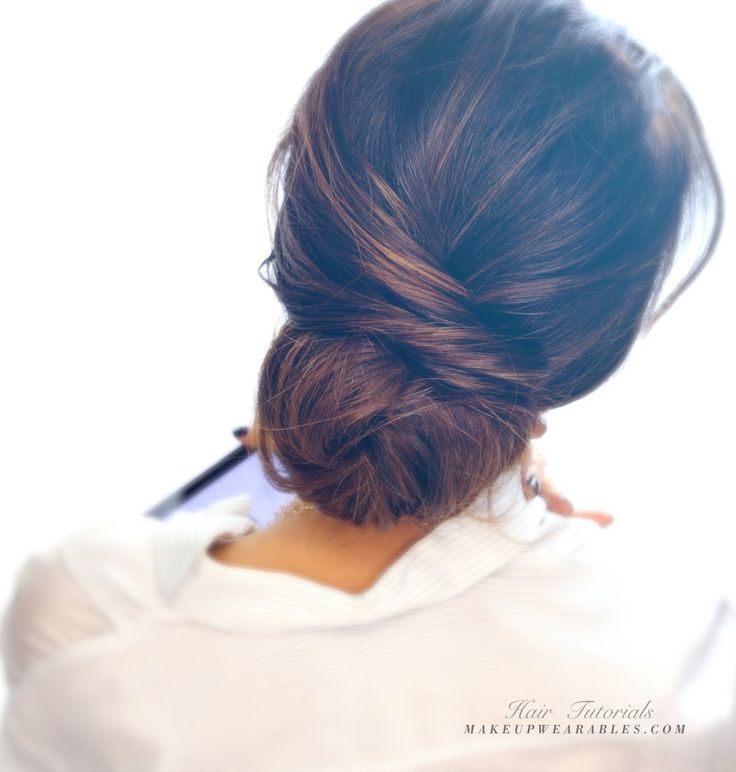 Quick Updo Hairstyle for Women