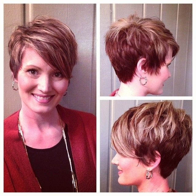 Short Layered Haircut for Women over 40