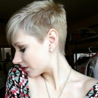 Short Shaved Haircuts for Blond Hair