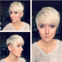 Short Shaved Pixie Haircut