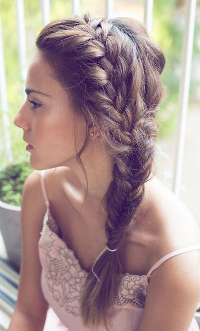 Super 10 Trendy Side Braid Hairstyles For Long Hair Pretty Designs Short Hairstyles For Black Women Fulllsitofus