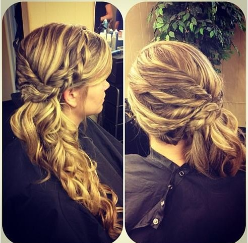16 Fabulous Braided Hairstyles for Girls - Pretty Designs