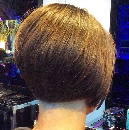 Stacked Bob Haircut for Office Hairstyles
