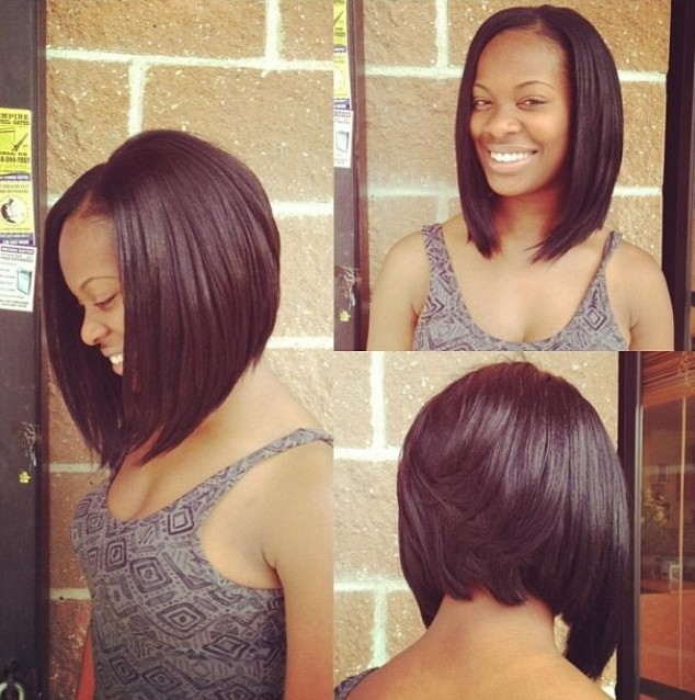 Marvelous 12 Coolest Black Hairstyles With Bangs Pretty Designs Short Hairstyles For Black Women Fulllsitofus