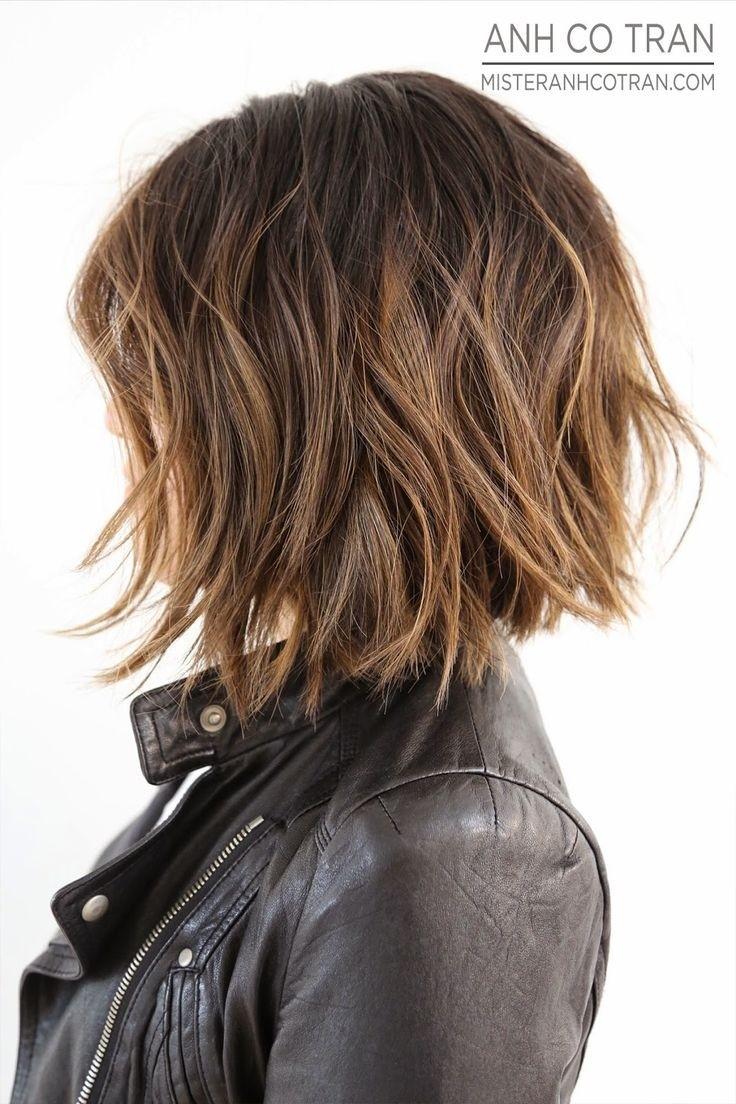 Textured Bob Haircut for Short Hair