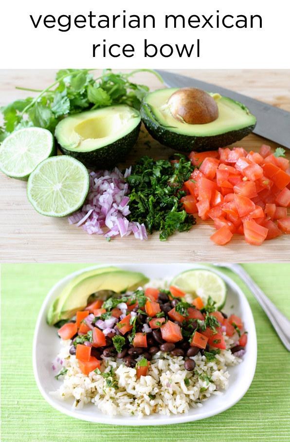 6. Vegetarian Rice Bowl