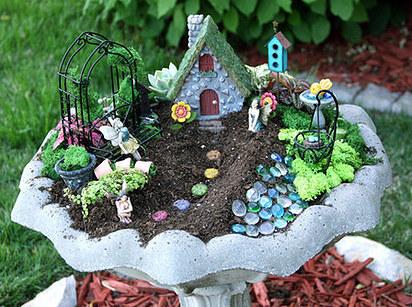 A Pretty Garden