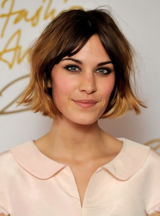 Incredible 15 Flattering Alexa Chung Hairstyles Pretty Designs Hairstyles For Women Draintrainus