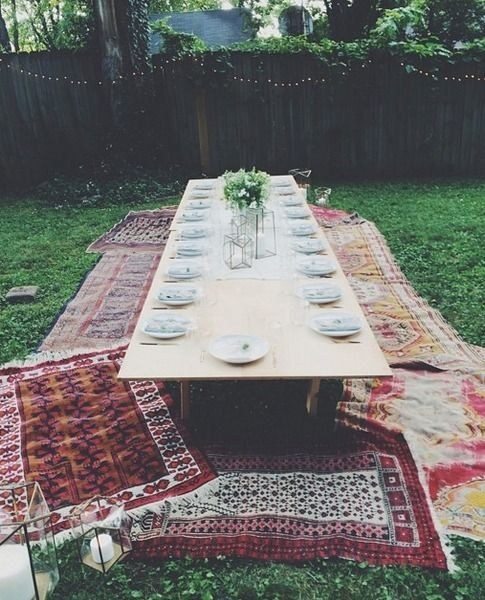 Backyard Picnic Table