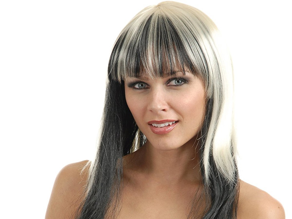 Black and Blond Hairstyle