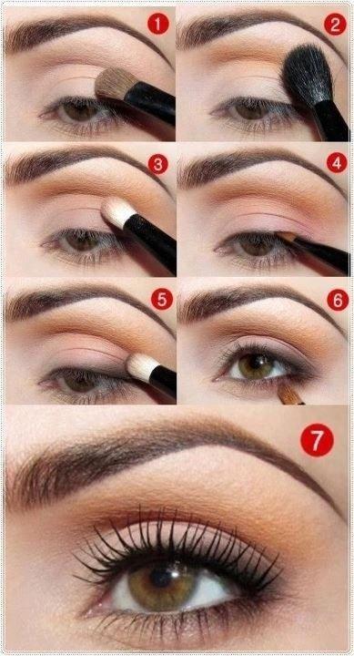 Daytime Plum Eye Makeup