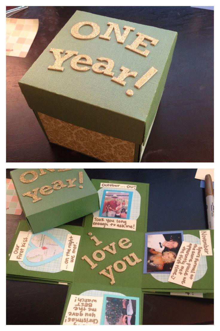 first year anniversary gift ideas for boyfriend