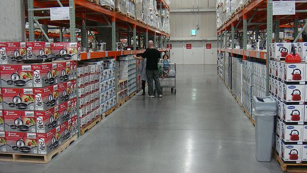 Get a membership to a big box store