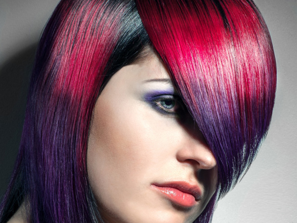 Gorgeous Two-Tone Hair