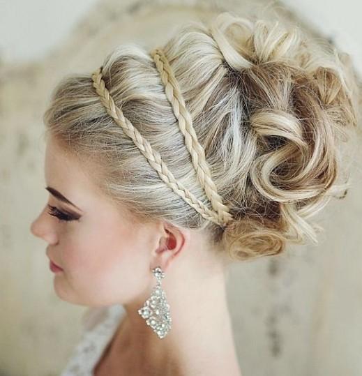Wedding Hairstyles Bun With Braid: 36 Breath-Taking Wedding Hairstyles For Women