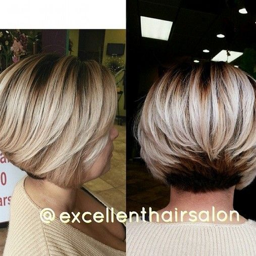 Layered Bob Haircut for Fine Hair