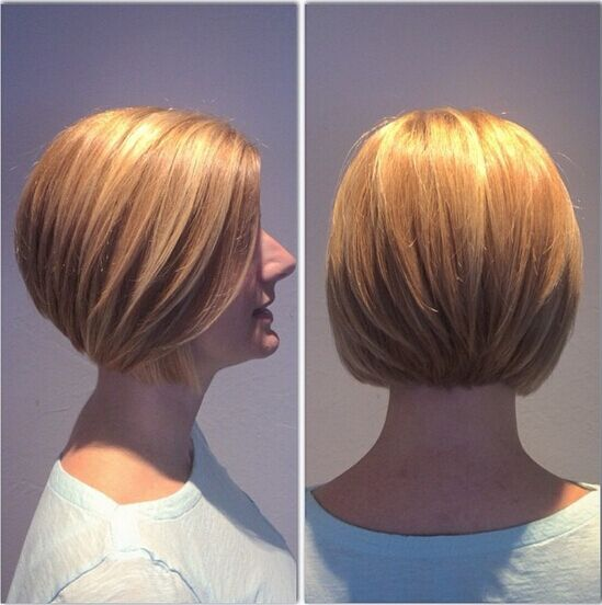 Layered Bob Hairstyle for Short Hair