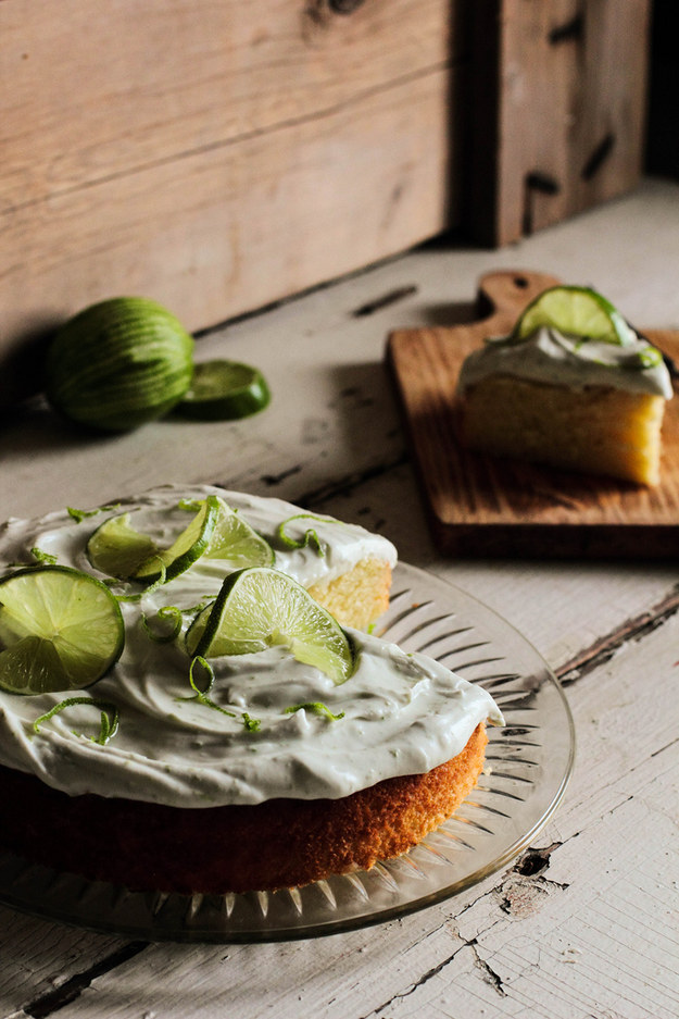 Margarita Lime Cake