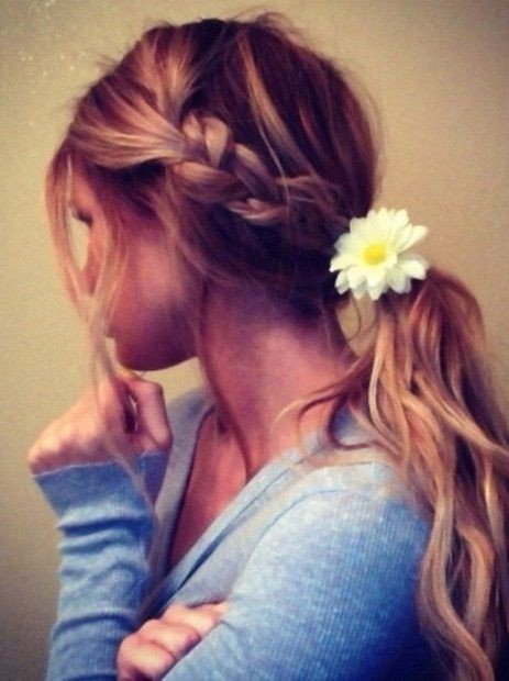 25 Chic Braided Hairstyles for Girls , Pretty Designs
