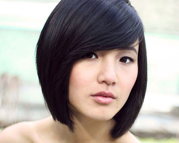 Short Bob Hairstyle for Asian Girls