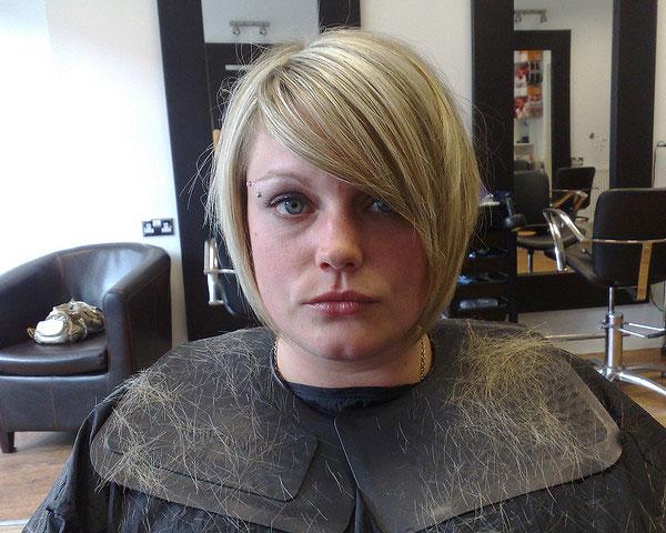 Short Choppy Haircut for Blond Hair