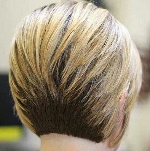 Short Ombre Bob Haircut