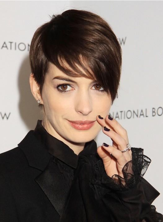 Short Pixie Haircut for Brown Hair