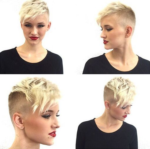 35 Very Short Hairstyles for Women - Pretty Designs