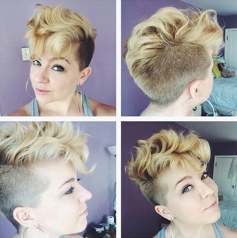 Short Wavy Hairstyle for Summer