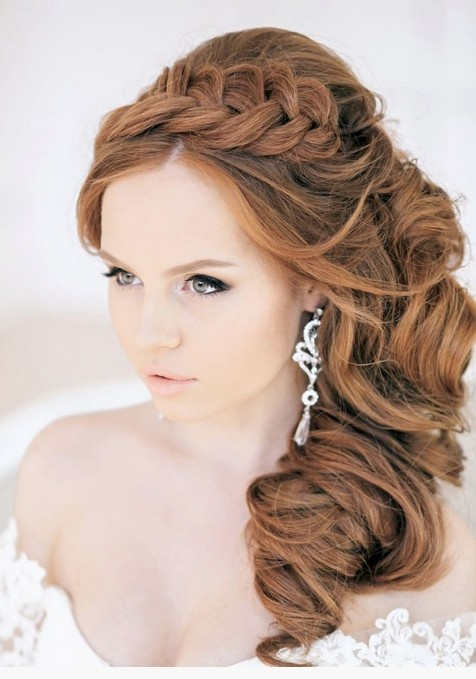Stupendous Wedding Hairstyles Side Braid Braids Hairstyle Inspiration Daily Dogsangcom
