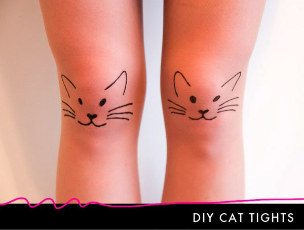 Simple Cat Tights