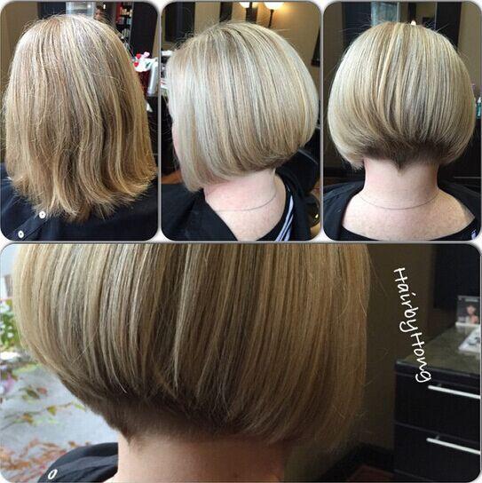 Straight Bob Haircut for Girls