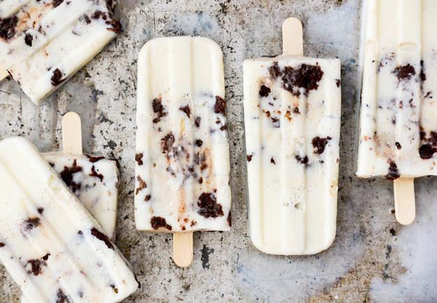 Vanilla Cream Popsicles