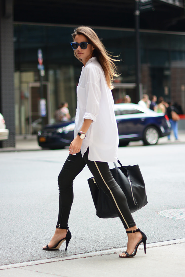 Casual Chic Black Amp White Outfit For Summer Pretty Designs