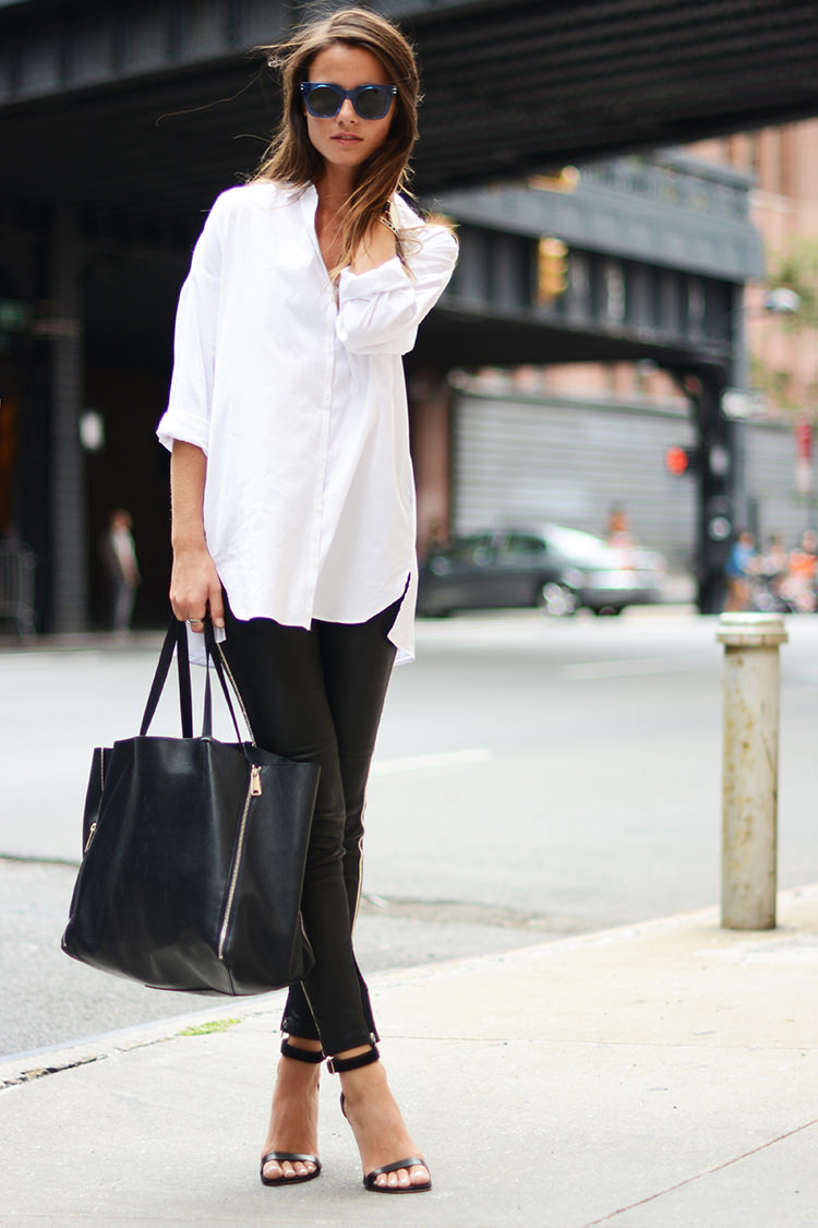 Simple Description Woman In White Shirt And Black Pants On August 2009 01jpg