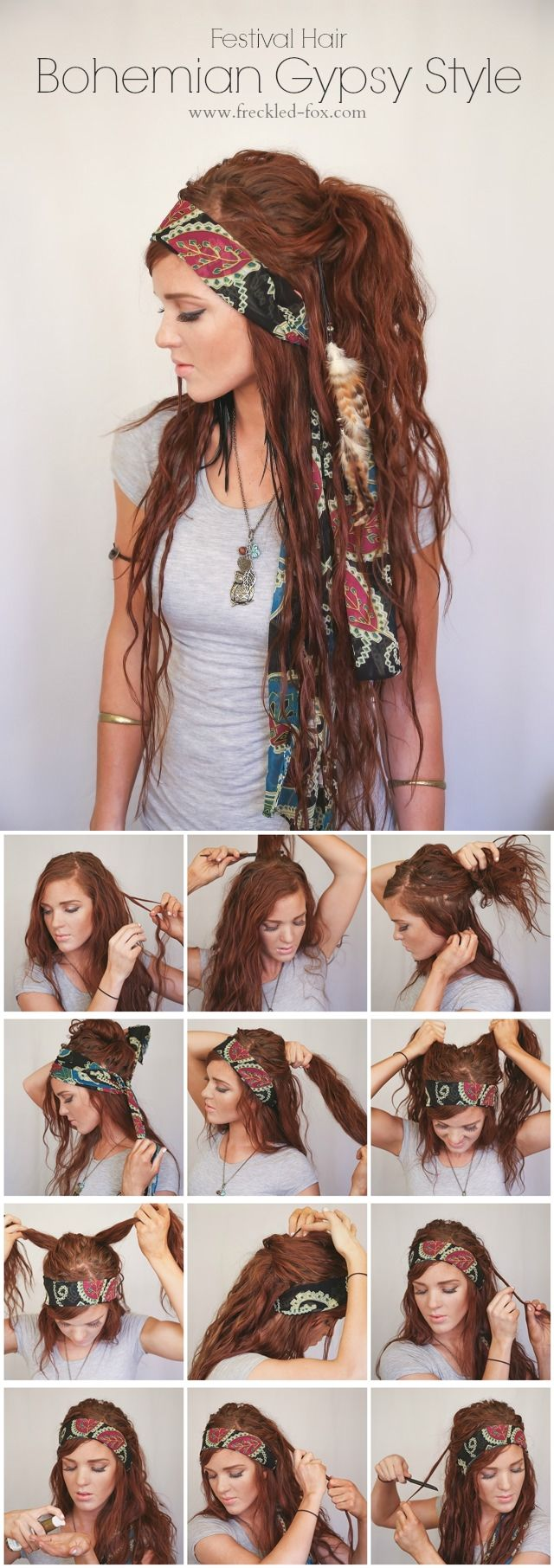 10 boho hair tutorial for the season pretty designs 10 boho hair tutorial for the season baditri Choice Image