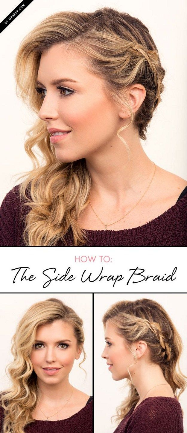 Braided Side Part