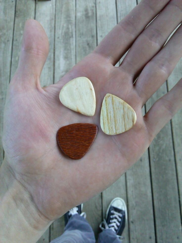 Wood Guitar Picks