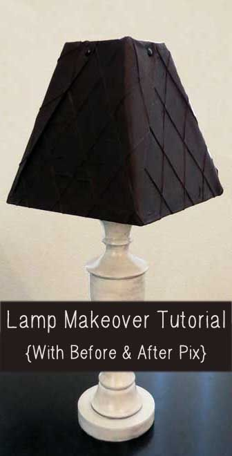12 diy projects to give lamp makeovers pretty designs diy lampshade aloadofball Images