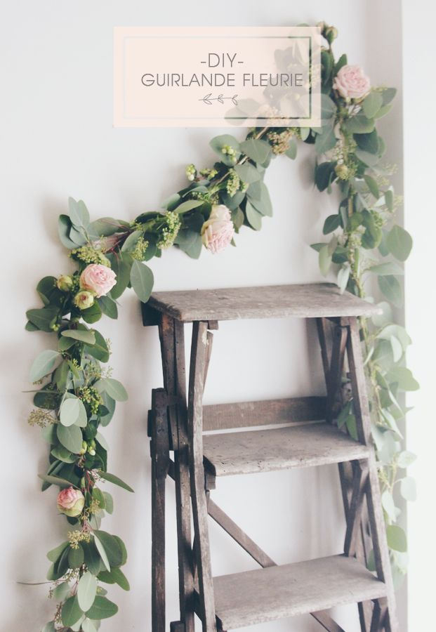 12 Diy Floral Garland Projects For Your Home Pretty Designs